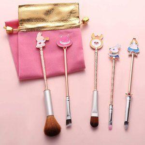 Alice in Wonderland Makeup Brushes Set